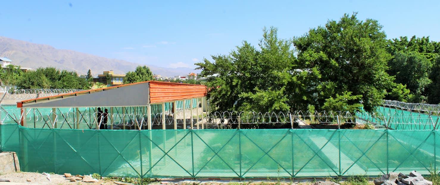 نمای کودکستان و شیرخوارگاه دانشگاه پروان