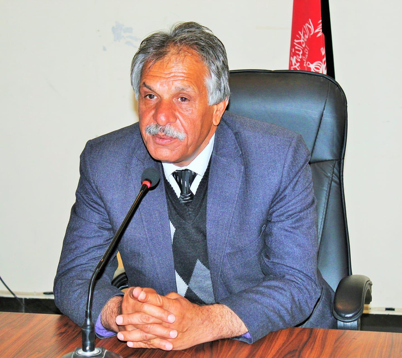 Prof Mohammad Homayoun Rasuli chancellor of Parwan University